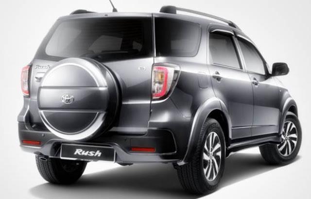 2017 Toyota Rush Specs, Price
