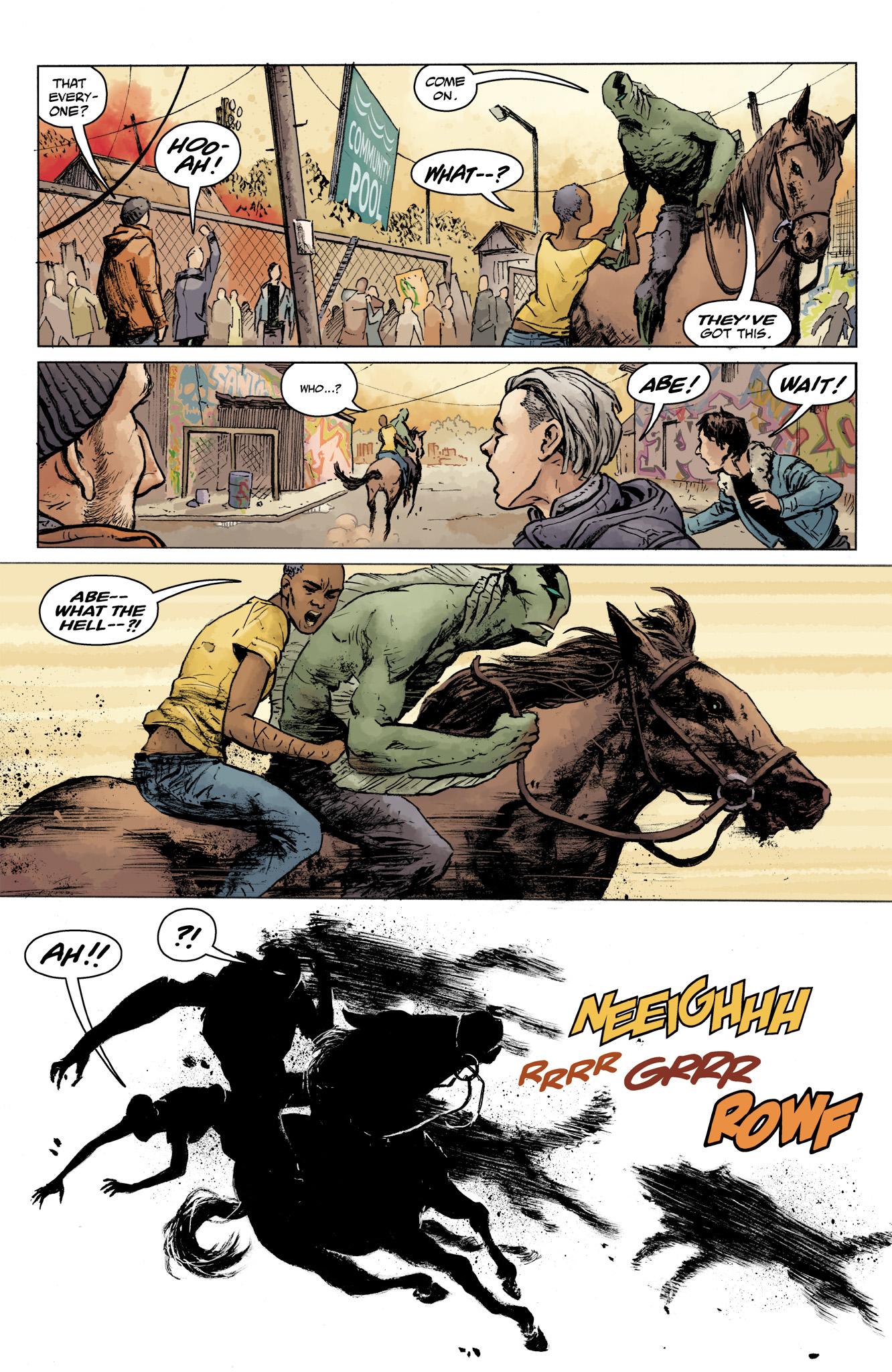 Read online Abe Sapien comic -  Issue #16 - 11
