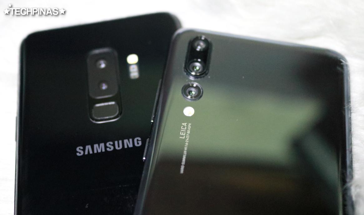 Huawei P20 Pro vs Samsung Galaxy S9 Camera Low Light