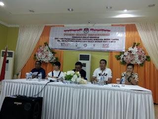 Gelar Diskusi,  KPU Mitra Siap Coklit Data Pemilih