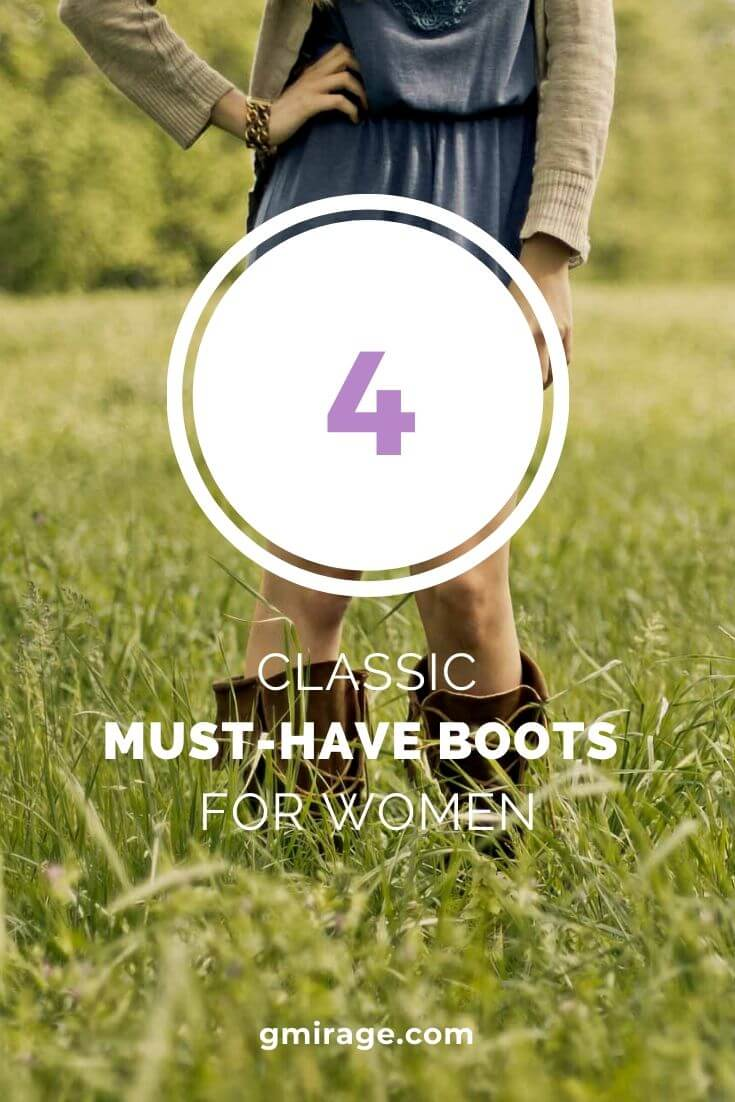 It's always a season of boots for women, regardless of the time of year. Boots are a classic option to fashionably complete your ensemble, and they can work for every occasion. Are you overwhelmed by which boots you should own and how to coordinate them? You don't have to worry about hard or fast rules for completing your outfit.