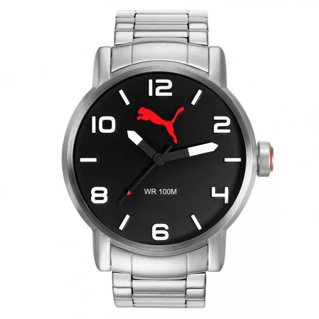 1b0e66f60858a Alimentação a bateria e com resistência de 10 atm. Clique AQUI para ver  mais detalhes desse Relógio Masculino
