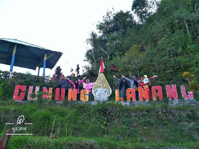 Tempat wisata Puncak Gunung Lanang Kulonprogo Yogyakarta | paket wisata | harga tiket | alamat