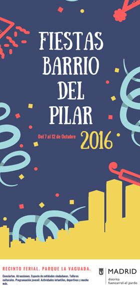 Programa de Fiestas del Barrio del Pilar 2016