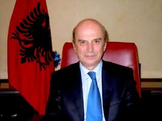 Ο Υπουργός Εξωτερικών Αλβανίας Εντμον Παναρίτι - Δεκ. 2012