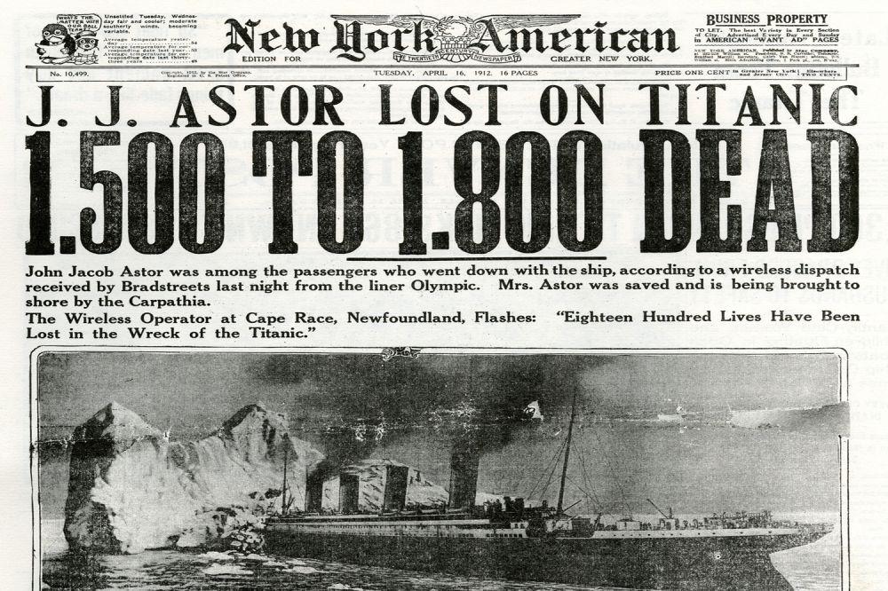 13 Foto langka tragedi tenggelamnya Titanic, sedih jadi pengen nangis ...