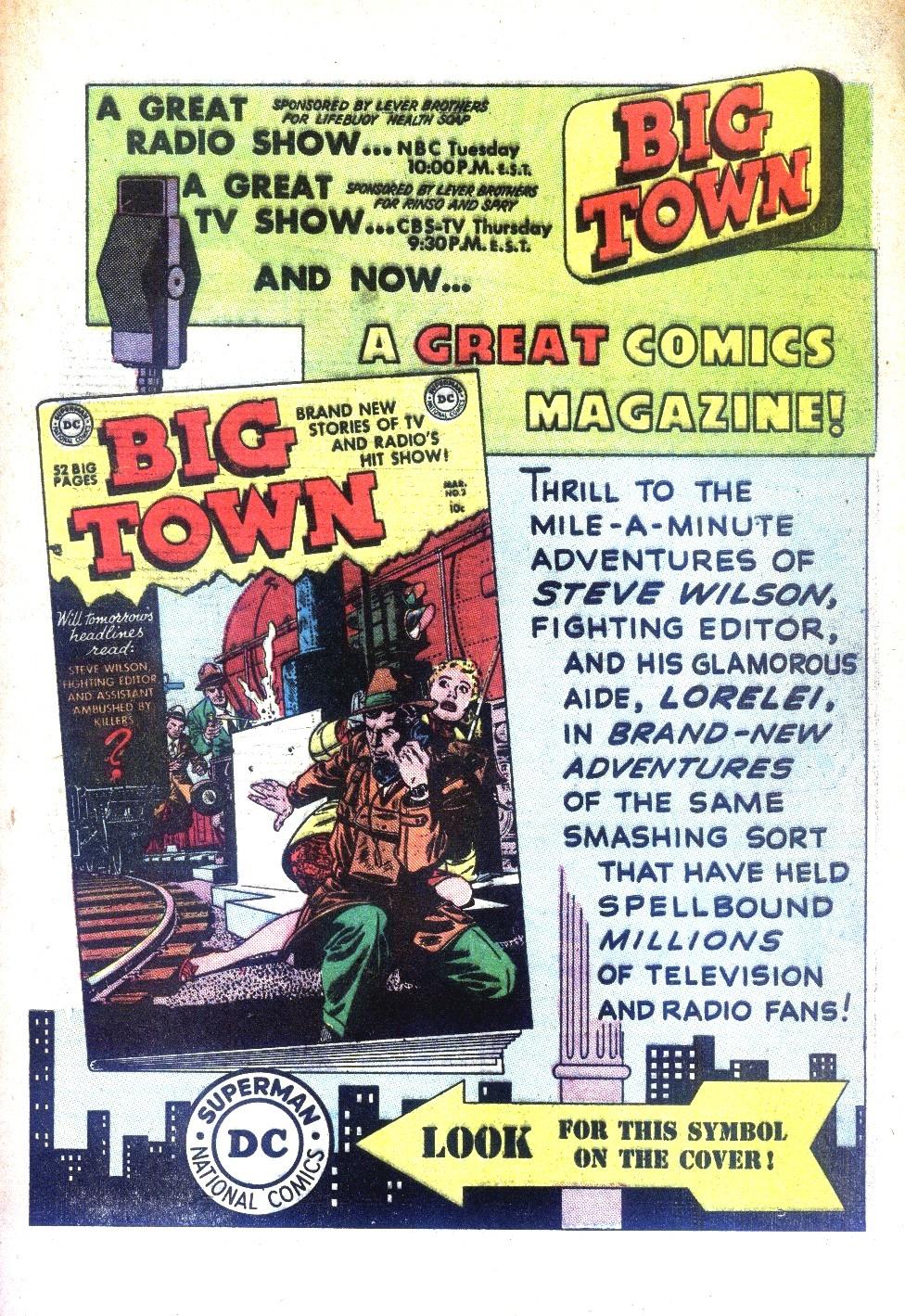 Read online Detective Comics (1937) comic -  Issue #169 - 49