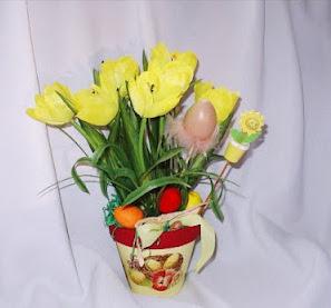 Manualidades Para Pascua Arreglos Florales Diy Aprender