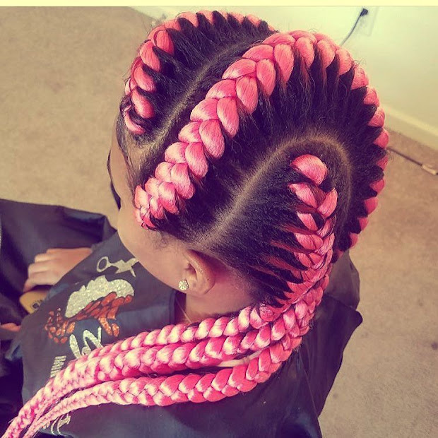 top 6 beautiful cornrow hairstyle