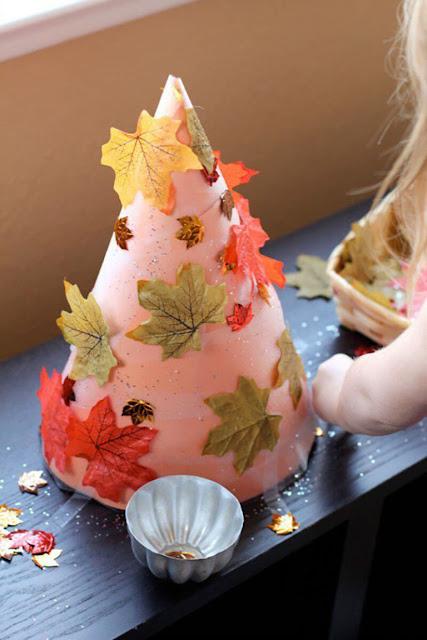 осеннее рукоделие, поделки осенние, поделки в детский сад, украшение интерьера, стиль осенний, для осенних праздникоа, мотивы осенние,  плдедки их листьев, поделки своими руками, своими руками, листья из бумаги, поделки на конусе, поделки из листьев,  из бумаги, поделки для детей,осенниее дерево - поделка для детского сада http://handmade.parafraz.space/