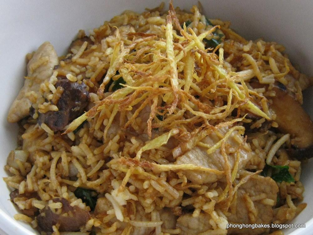 Phong Hong Bakes and Cooks!: Ginger Fried Rice