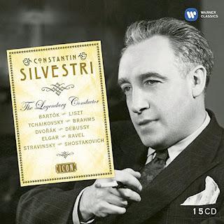 Constantin Silvestri (1913-1969) es el protagonista de este fabuloso cofre con 15 cd.