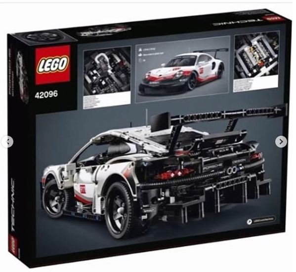 anj 39 s brick blog lego technic 2019 porsche 911 rsr 42096. Black Bedroom Furniture Sets. Home Design Ideas