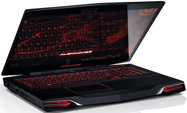 Laptop Gaming Dell Alienware M17X