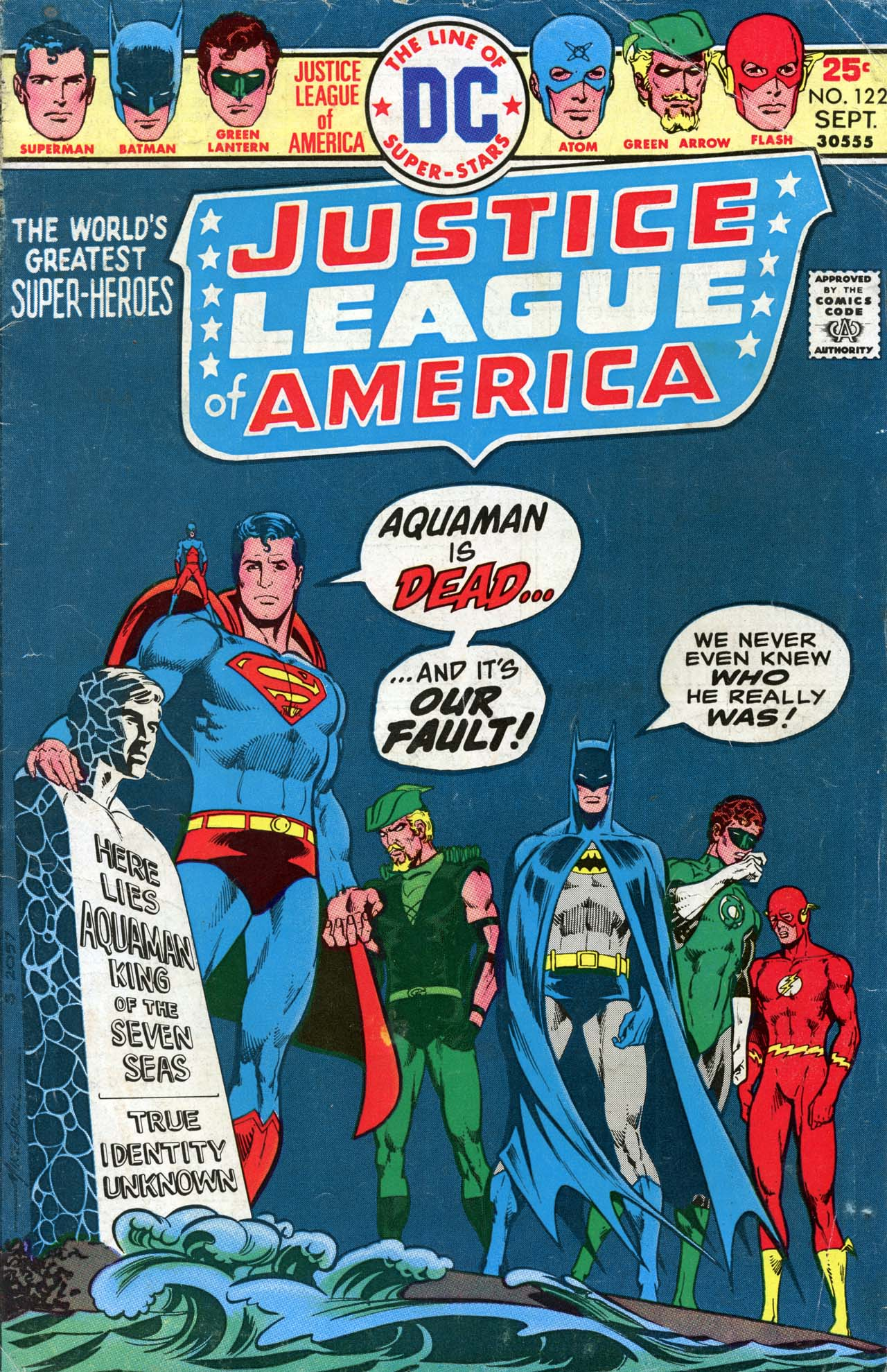Justice League of America (1960) 122 Page 1
