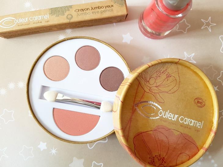 avis sur le maquillage couleur caramel