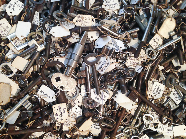 Vintage keys