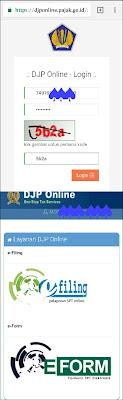Cara pelaporan SPT efilling online