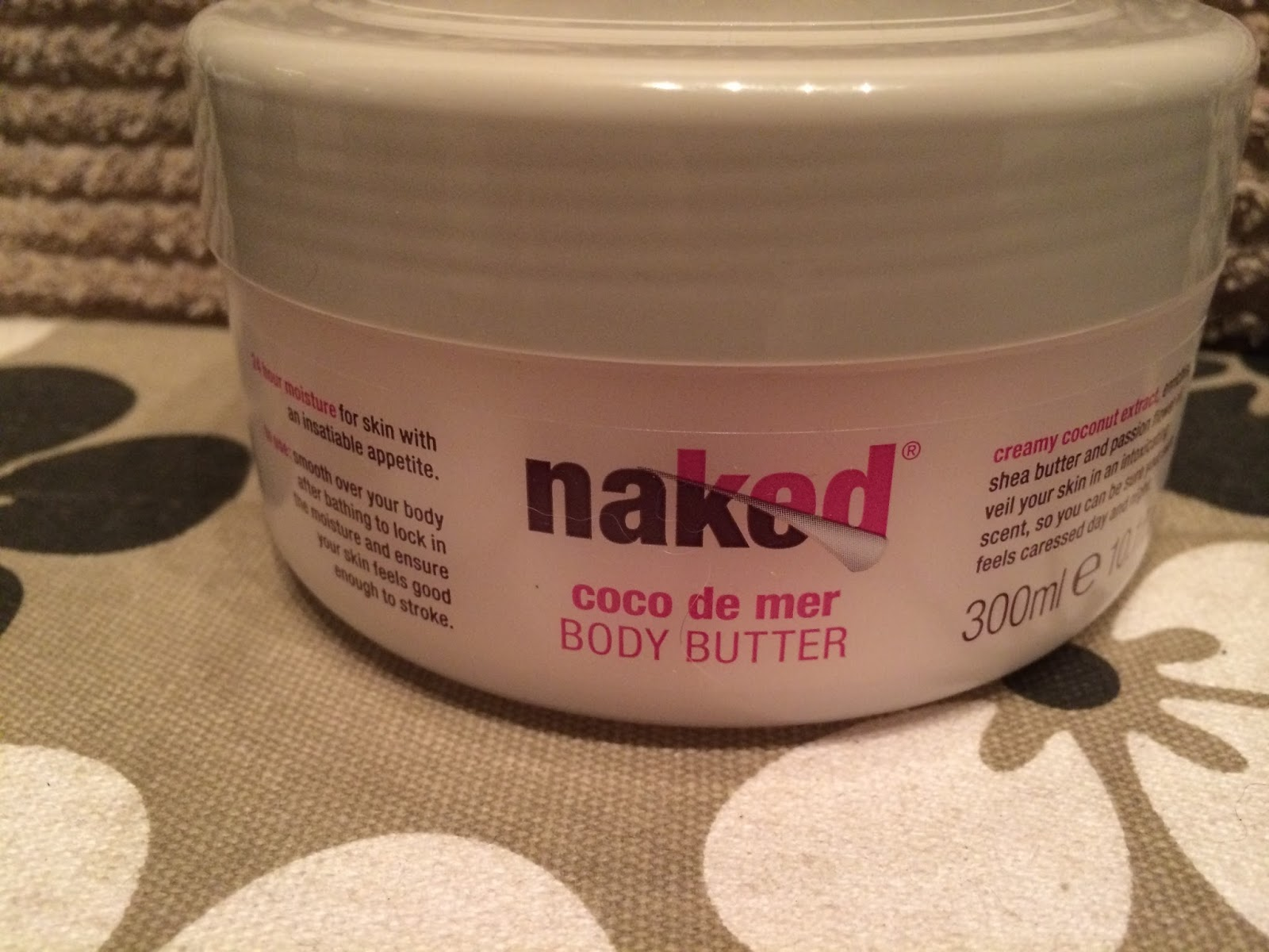 Naked's 24 Hour Body Butter!