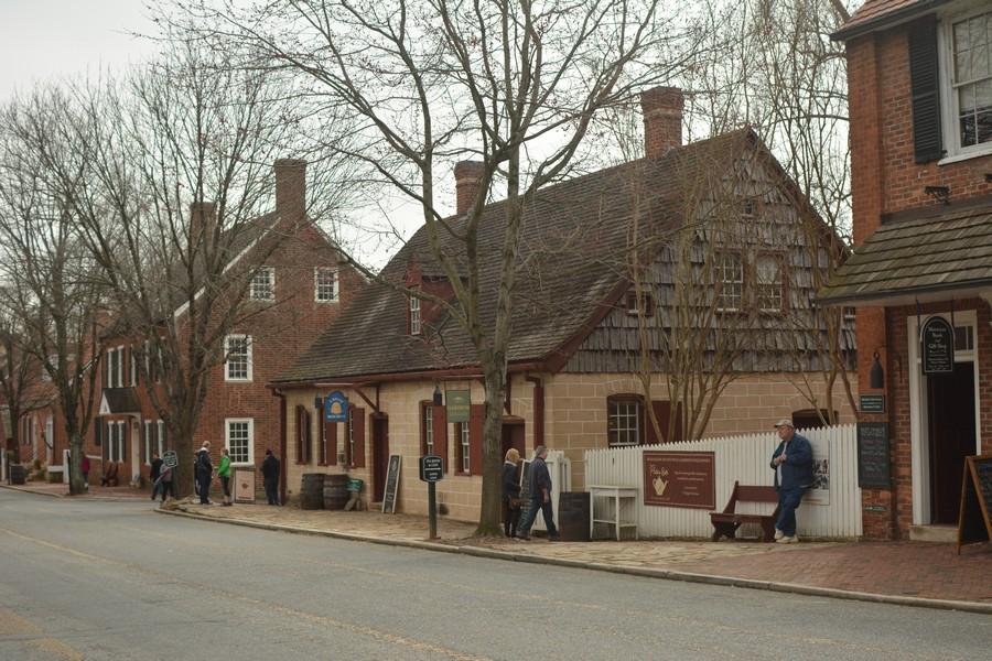 Maisons typiques Old Salem