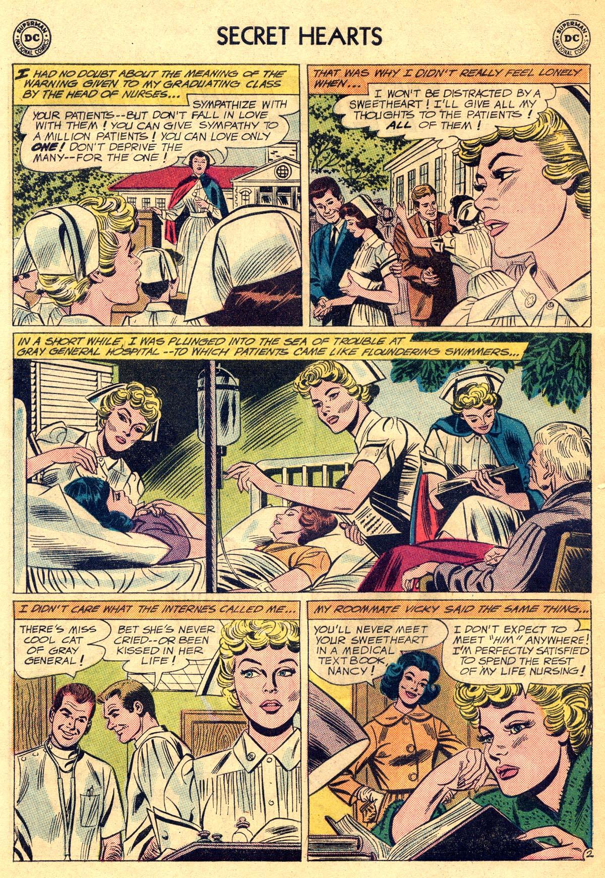 Read online Secret Hearts comic -  Issue #81 - 28