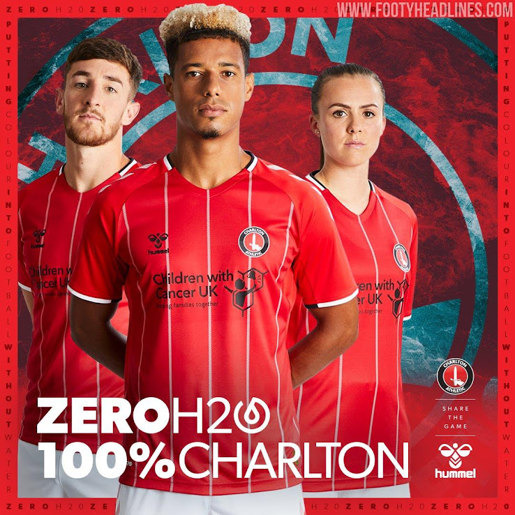 c5a92a4a5e10d Charlton Athletic 19-20 Home Kit Revealed - Footy Headlines