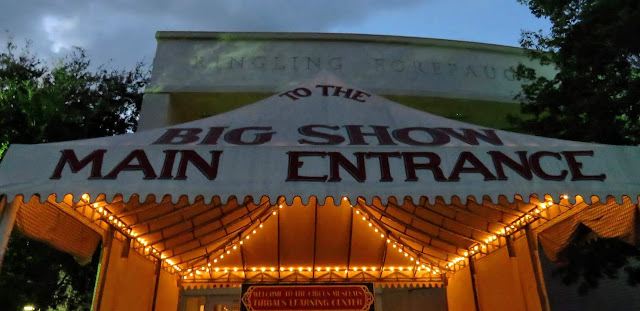 Entrance to the Ringling Circus Museum in Sarasota, Florida