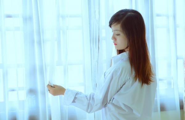 Ảnh hot girl 9x Cctalk mặc áo sơ mi trắng cực gợi cảm