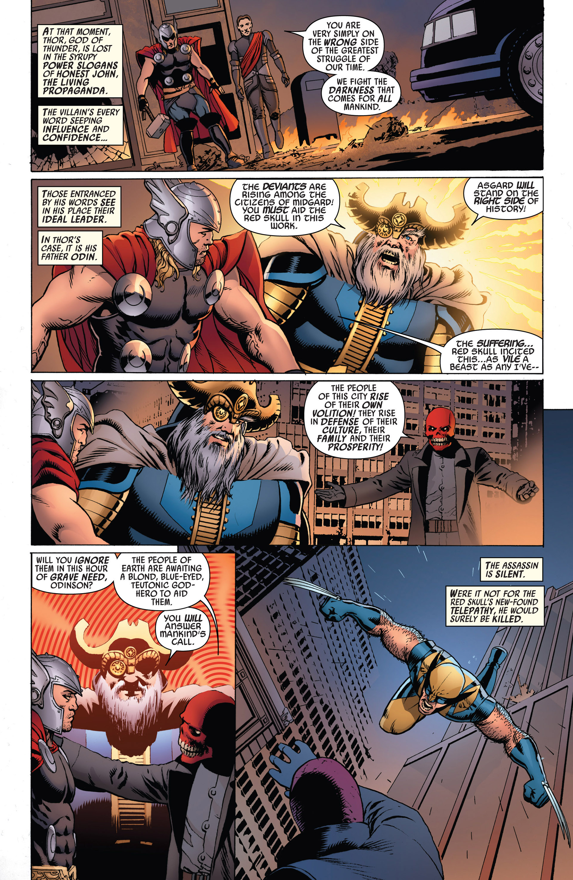 Read online Uncanny Avengers (2012) comic -  Issue #3 - 19