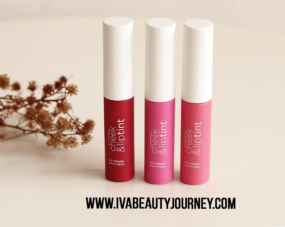 Review Wardah Cheek And Lip Tint All Shades Ivas Beauty Journey Liptint New Tersedia Dalam 3 Warna Yaitu Red Set Glow My Baerry Dan Pink On Packaging Masing Memiliki Yang
