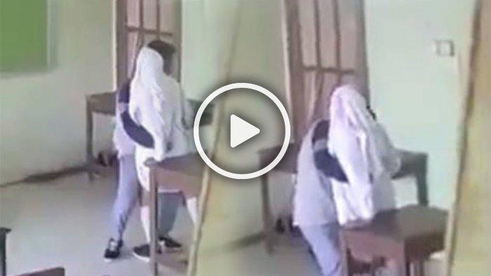 Video Mesum Pelajar SMA di Dalam Kelas