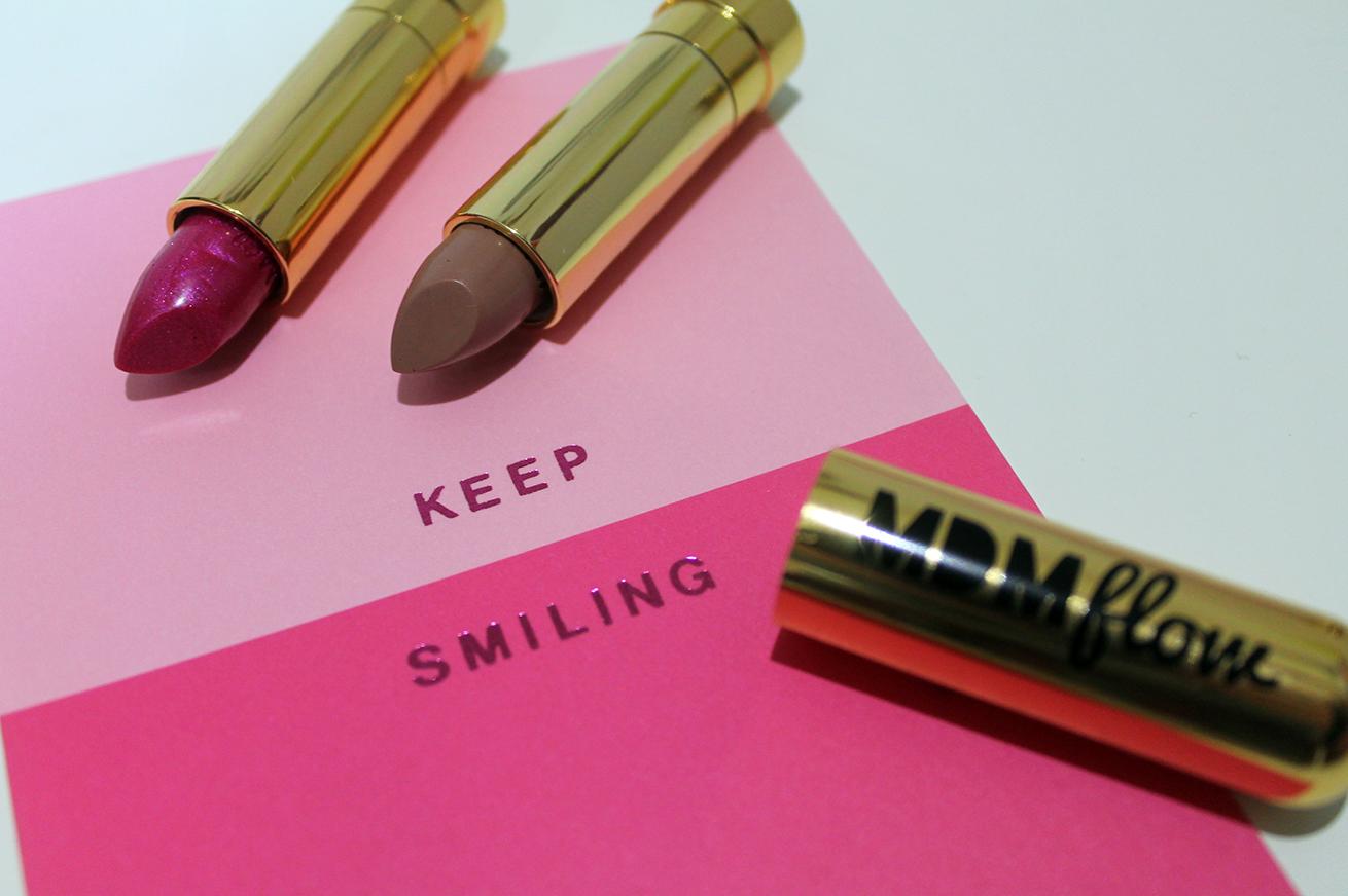 MDMFlow bullet lipsticks review