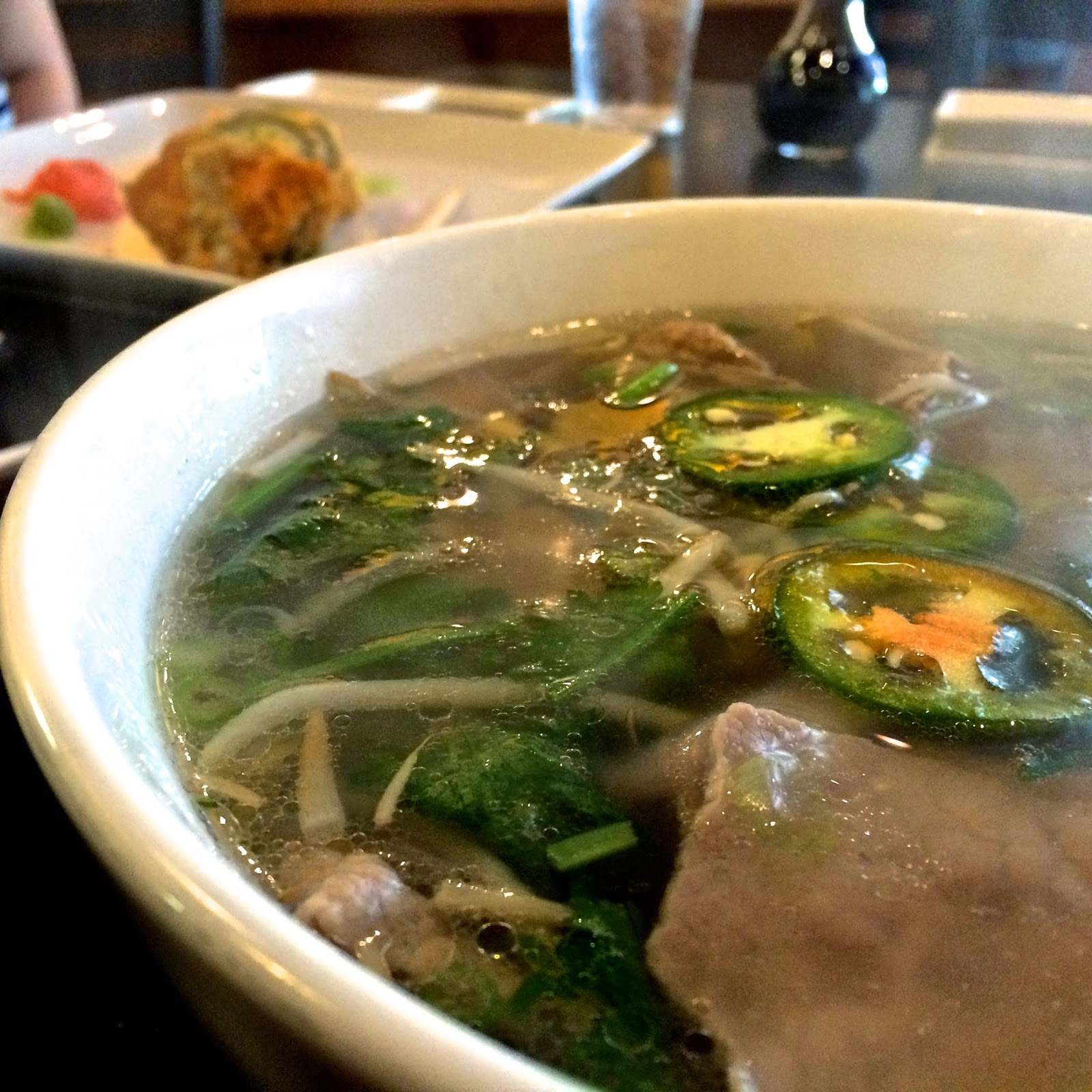 Drunken Fish's Eye Round Pho $8