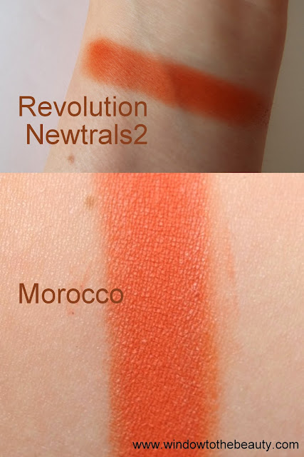 Makeup Geek Morocco dupes  swatches