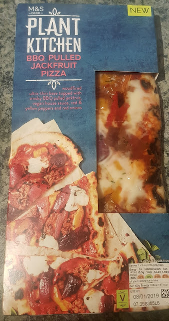 A Plant Kitchen pizza from M&S