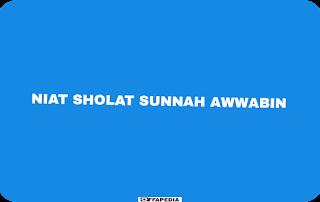 Sholat sunnah awwabin
