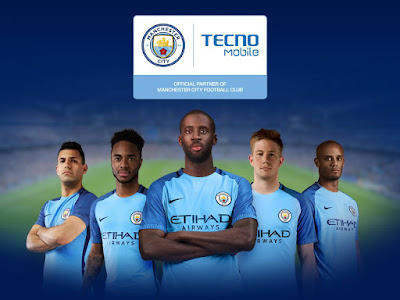 Tecno Mobile Completes a partnership deal with Manchester City Football Club