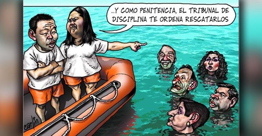 Carlincaturas Lunes 17 Julio 2017 - La República