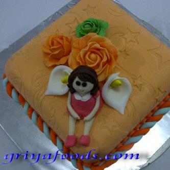 GriYa Foods Fondant untuk Menghias Cake