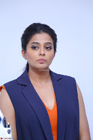 Priyamani in Beautiful Short Deep neck Orange Dress ~  Exclusive 56.JPG