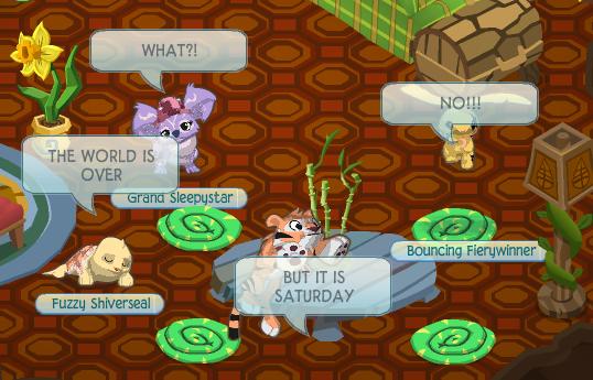 Animal Jam Community Blog: Raccoon Tail Returns!