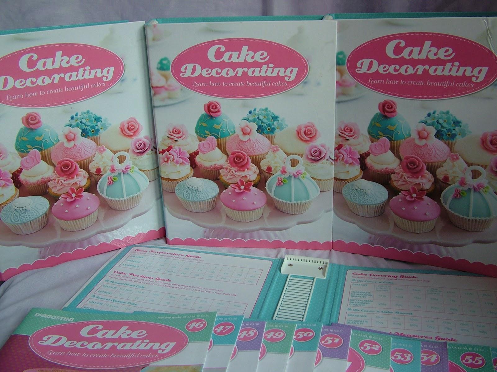 Deagostini Cake Decorating Binder