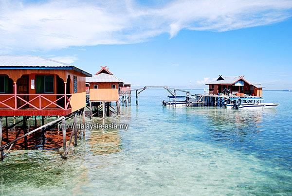 Dive Homestay at Mabul Island