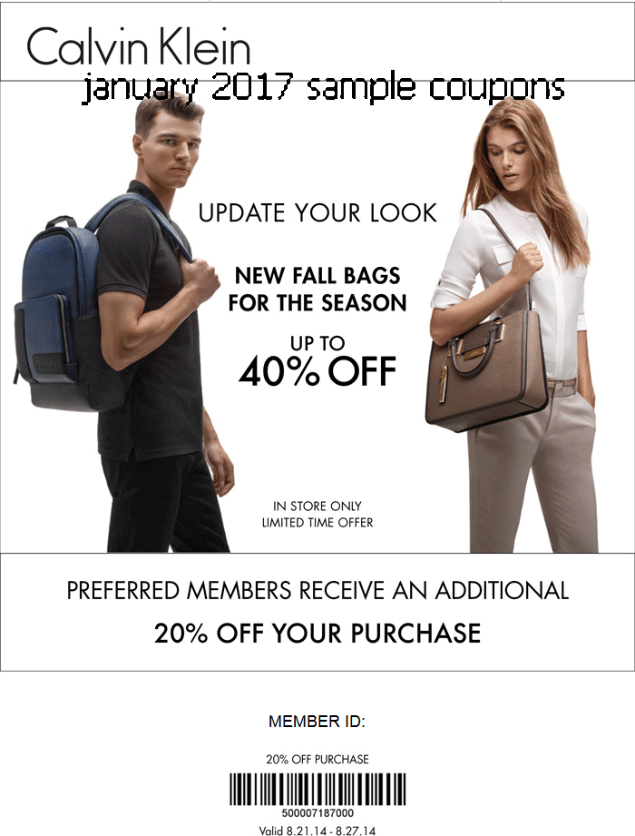 image about Calvin Klein Printable Coupon named Calvin klien promo code / Ashley stewart totally free transport discount coupons