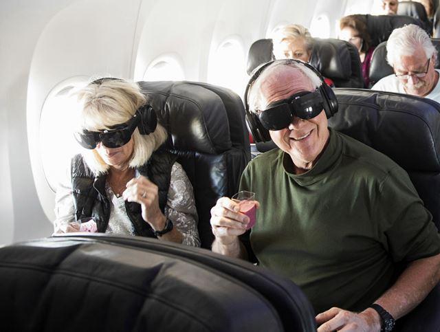 알래스카항공, VR 헤드셋