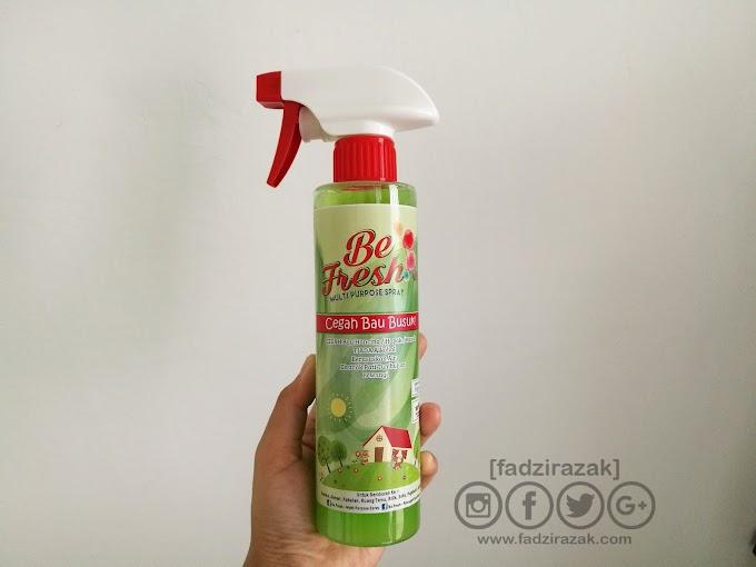 Be Fresh Multipurpose Spray Untuk Hilangkan Bau Busuk