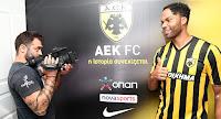 Βίντεο με την πρώτη συνέντευξη του Joleon Lescott ως ποδοσφαιριστής της ΑΕΚ