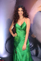 Disha Patani in Beautiful Green Gown at her App Launch 010.JPG