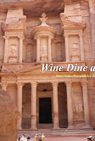 The Petra Castle in Jordan is a UNESCO world heritage site and a new seven wonder of the world