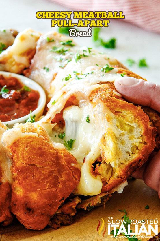 http://www.theslowroasteditalian.com/2018/02/cheesy-meatball-pull-apart-bread.html
